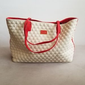 Betsey Johnson Quilted Tote
